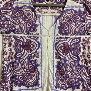 Lucky Brand Tops - Lucky Brand top. Super cute. Paisley! Like new